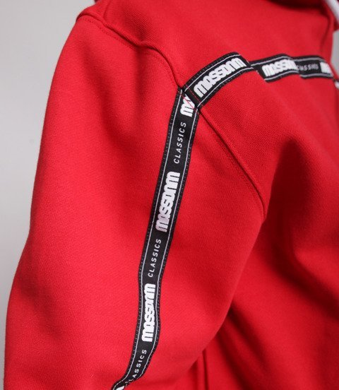 Mass GAP Bluza z Kapturem Czerwony