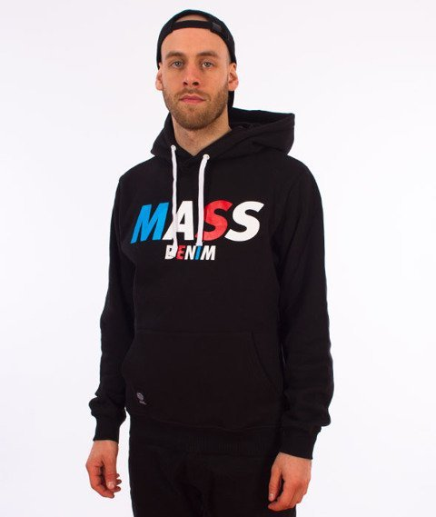 Mass-Grand Hoody Bluza Kaptur Czarna