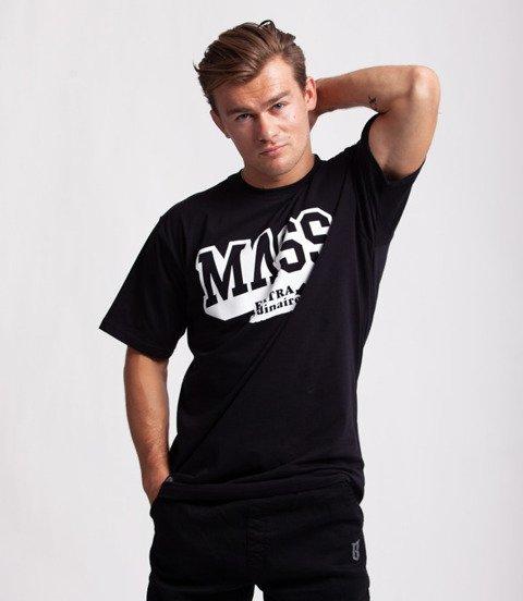 Mass HASSLE T-Shirt Czarny