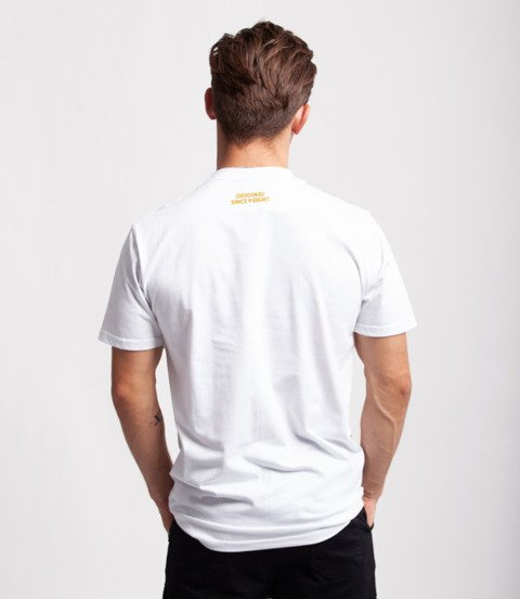 Mass IN GOLD WE TRUST T-Shirt Biały