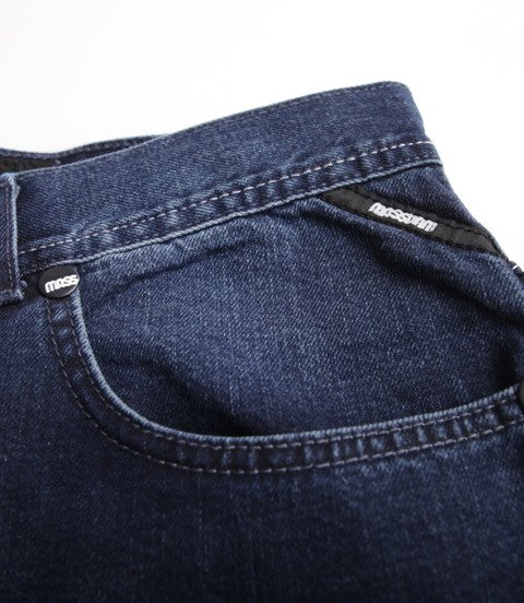 Mass Jeans Base Regular Fit Spodnie Krótkie Dark Blue