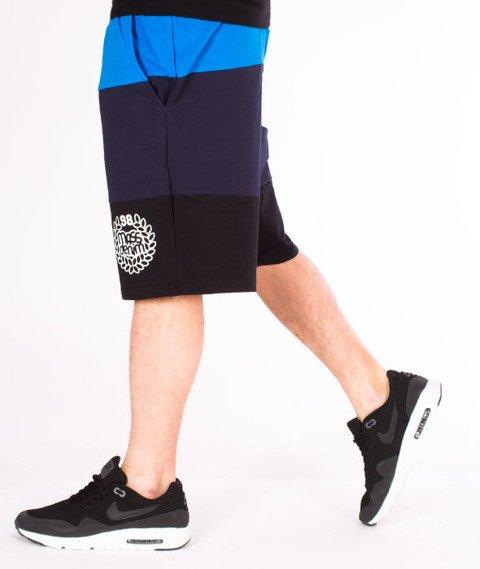 Mass-Levels Spodnie Dresowe Krótkie Blue