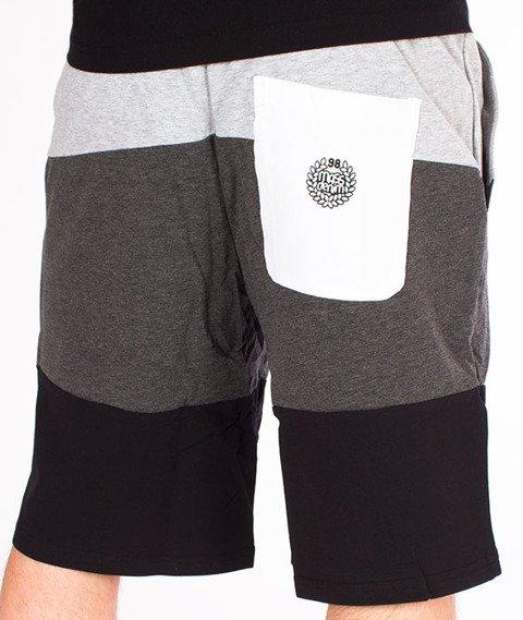 Mass-Levels Spodnie Dresowe Krótkie Heather Grey