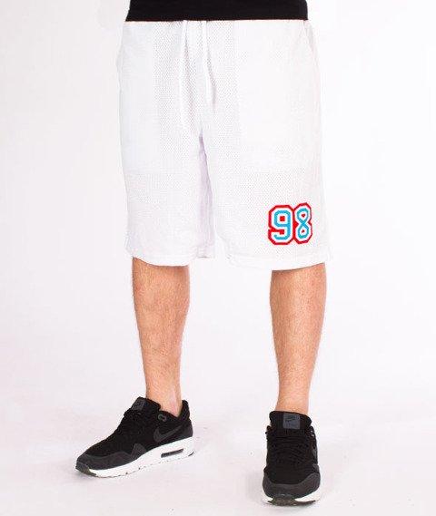 Mass-Liberty Spodnie Szorty White