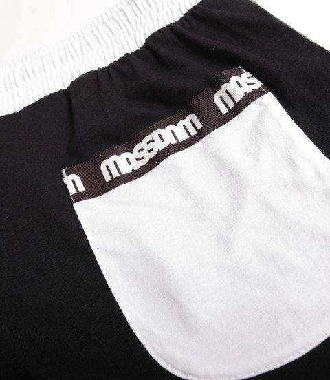 Mass Line Spodnie Krótkie Czarny