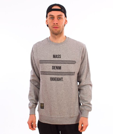 Mass-Lineup Bluza Light Heather Grey