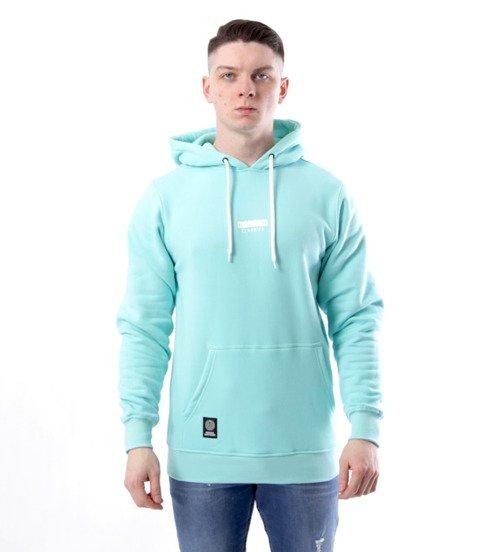 Mass-Mass-Bluza Sweatshirt Hoody Classic small logo Miętowa