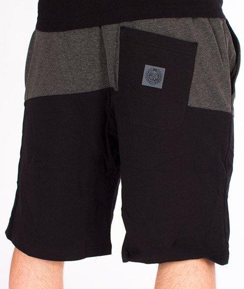 Mass-Master Spodnie Dresowe Krótkie Black