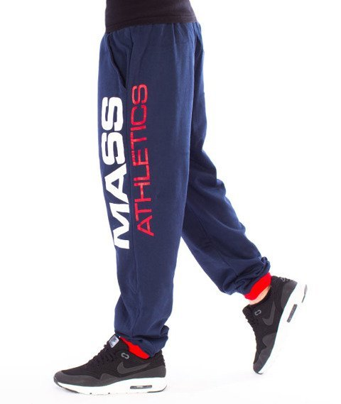 Mass-Meeting Spodnie Dresowe Navy