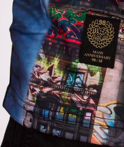 Mass-Palace T-Shirt Czarny/Multicolor