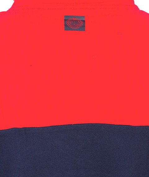 Mass-Pocket Base Kaptur Czerwony/Granatowy