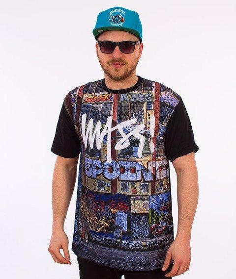 Mass-R.I.P. 5 Pointz T-shirt Czarny
