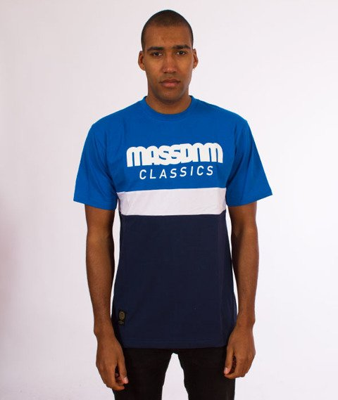Mass-Respect T-Shirt Blue/Navy