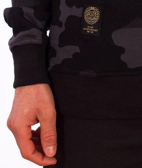 Mass-Signature Crewneck Bluza Black Camo