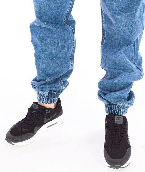 Mass-Signature Jogger Jeans Spodnie Light Blue