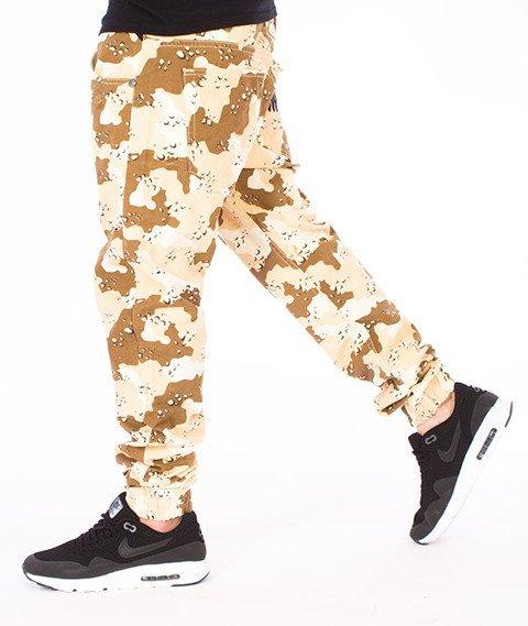 Mass-Signature Jogger Pants Spodnie Desert Camo
