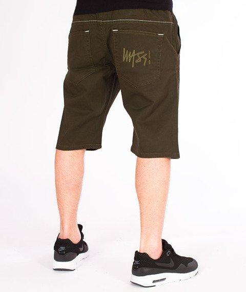 Mass-Signature Shorts Straight Fit Khaki