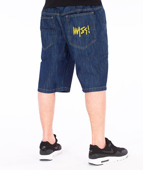 Mass-Signature Shorts Straight Rinse Blue