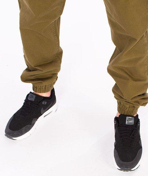 Mass-Signature Sneakers Fit Jogger Khaki