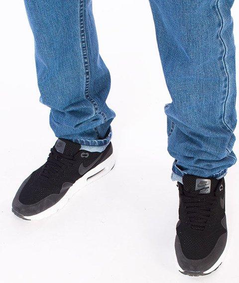 Mass-Signature Tapered Fit Jeans Spodnie Blue