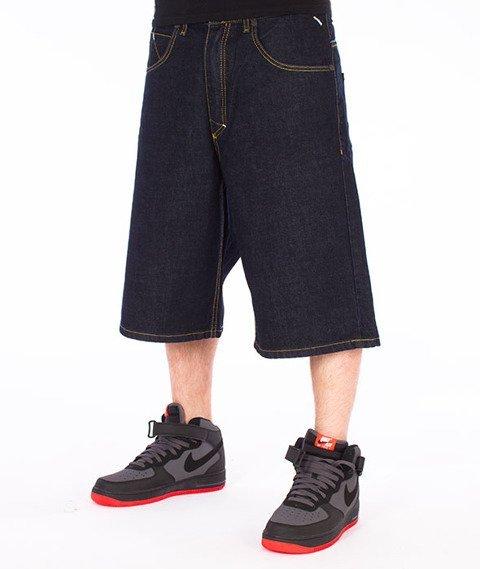 Mass-Slang Shorts Baggy Dark Blue