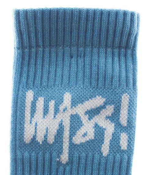 Mass-Socks Signature 2018 Skarpetki Niebieskie