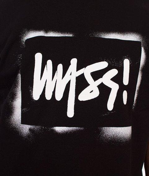 Mass-Street Sign T-Shirt Czarny