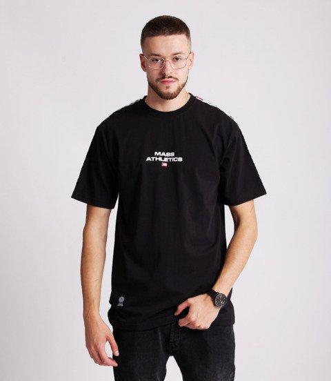 Mass TRACK T-Shirt Czarny