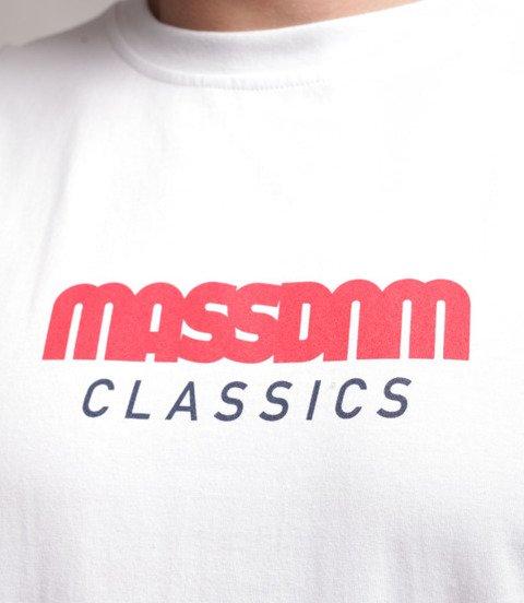 Mass Triple T-Shirt Biały