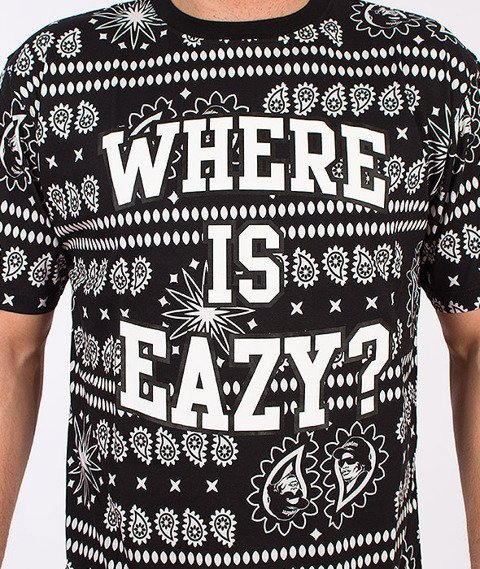 Mass-Where is Eazy T-shirt Czarny