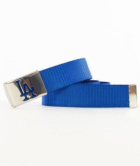 MasterDis-MLB Woven Single Los Angeles Dodgers Pasek Niebieski/Srebrny