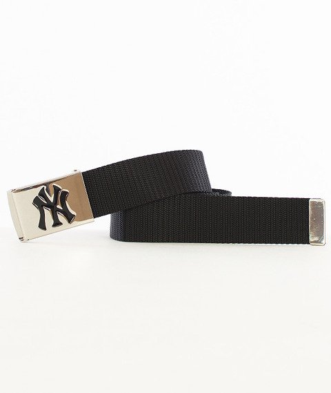 MasterDis-MLB Woven Single New York Yankees Pasek Czarny/Srebrny