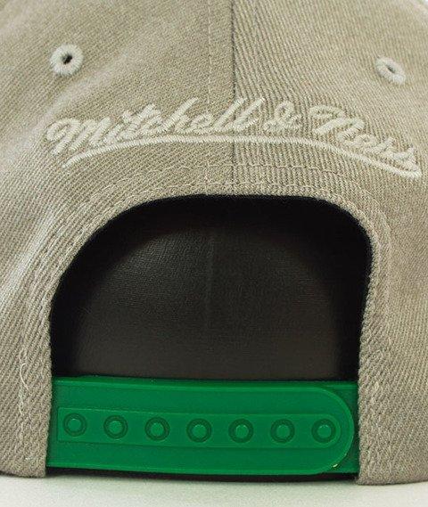 Mitchell & Ness-Boston Celtics Snapback Czapka Szara