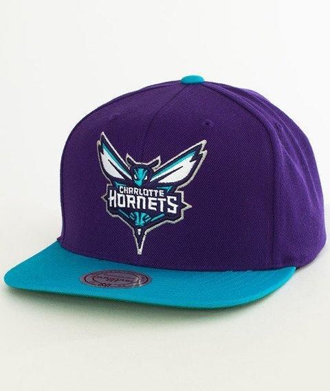 Mitchell & Ness-Charlotte Hornets XL Logo Two Tone NM04Z