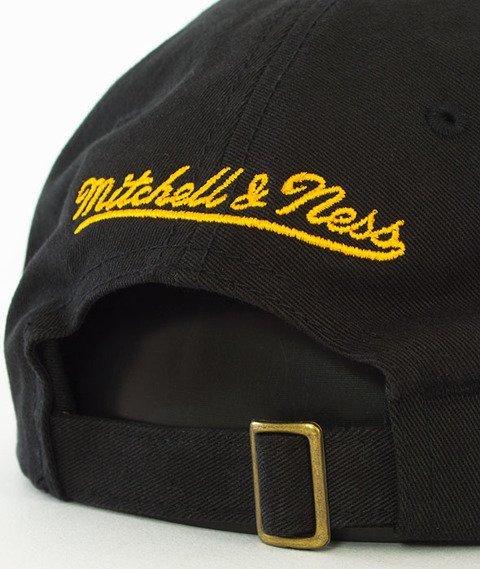 Mitchell & Ness-Golden State Warriors Washed Snapback Czapka Czarna