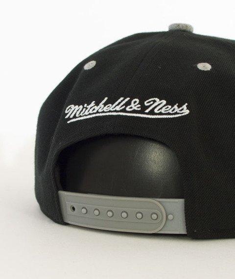 Mitchell & Ness-Greytist Brooklyn Nets Snapback EU938 Czarny/Szary