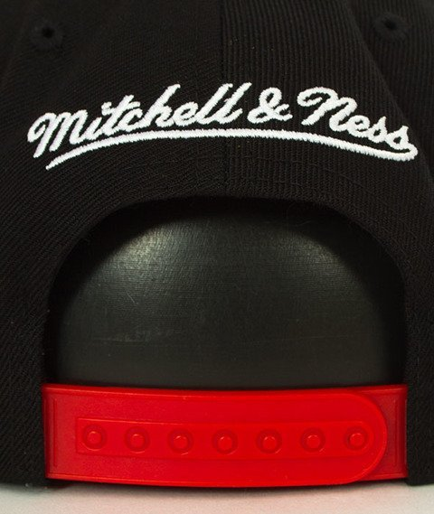 Mitchell & Ness-Miami Heat XL Logo Two Tone NJ16Z