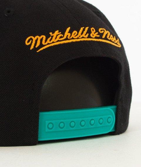 Mitchell & Ness-San Antonio Spurs Snapback EU956 Black/Teal