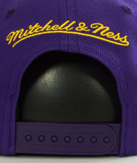 Mitchell & Ness-Silicon Grass BH72HT Los Angeles Lakers Snapback