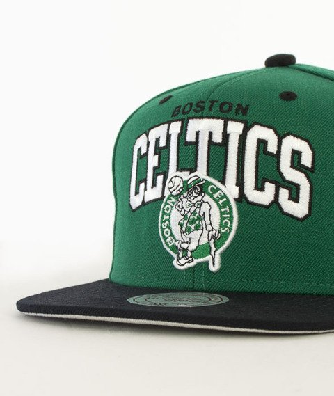 Mitchell & Ness-Team Arch Boston Cetlics Snapback NA80Z Zielony/Czarny