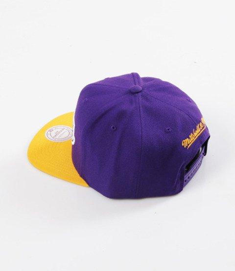 Mitchell & Ness- Wool Solid Snapback - NBA - LA Lakers