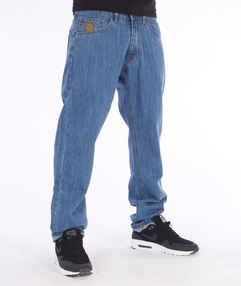 Moro Sport-78 Straight Fit Spodnie Jasny Jeans