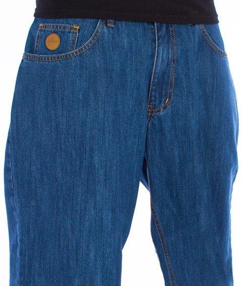 Moro Sport-Baggy Spodnie Średni Jeans