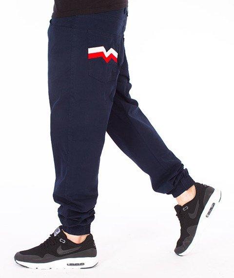 Moro Sport-M-Baseball Jogger Regular Spodnie Granatowe