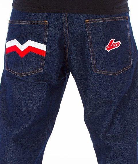 Moro Sport-M-Baseball Regular Spodnie Ciemne Pranie