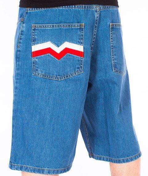 Moro Sport-M Jeans Spodnie Krótkie Jasne Spranie