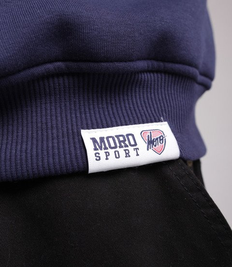 Moro Sport Paris Bluza bez kaptura Granatowy