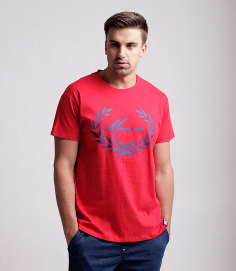 Moro Sport Paris Laur T-Shirt Czerwony