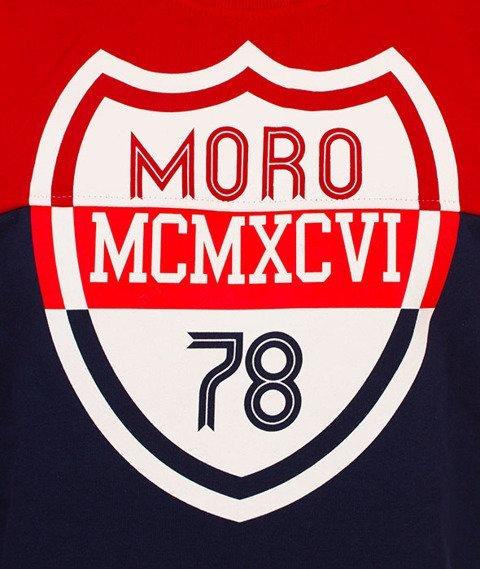 Moro Sport-Shield Klasyk Bluza Czerwona/Granatowa