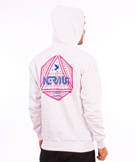 Nervous-Arcade FA18 Hood Bluza Kaptur White